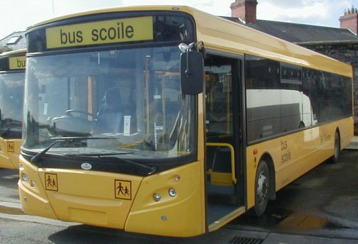 No schoolbuses during red weather warnings, says bus éireann.