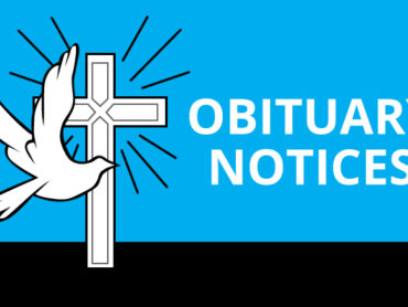 Obituaries, Sunday September 20th  10 a.m.