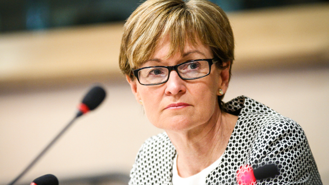 MEP Mairead McGuinness says there can be no watering of interim Brexit deal