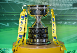 The FAI Junior Cup pictured during the FAI Junior Cup Quarter Final Launch and Draw at the Aviva Stadium in Lansdown Road, Co. Dublin. Photo by Cody Glenn/Sportsfile *** NO REPRODUCTION FEE ***