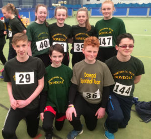 group-of-8-tc-athletes-on-donegal-u13-and-u15-teams-for-upcoming-uk-sportshall-finals-in-manchester