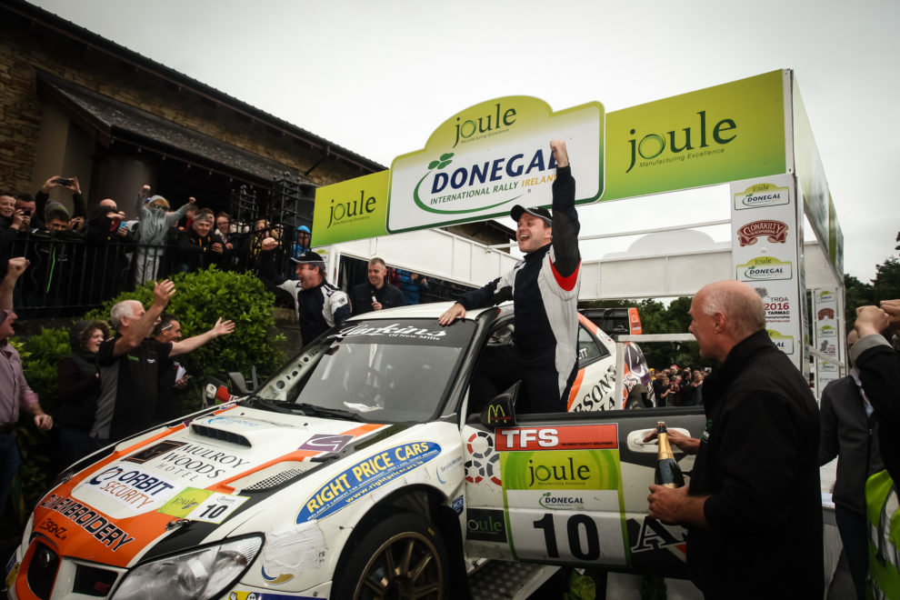 High quality entry list confirmed for Donegal International Rally ...