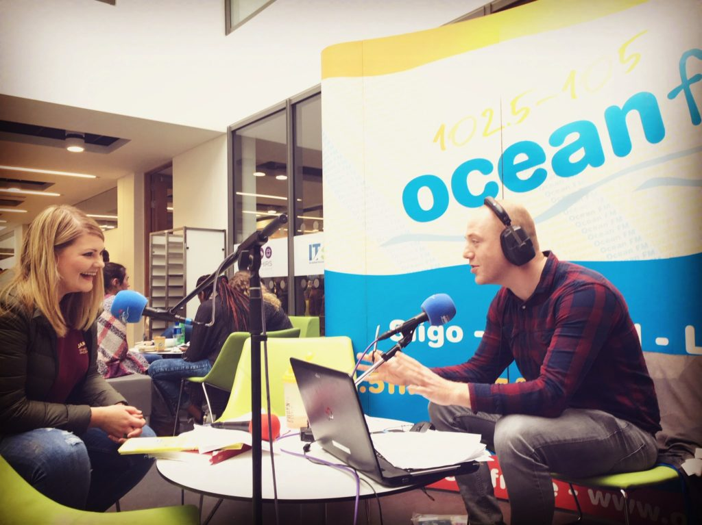 IT Sligo Ocean Fm Broadcast