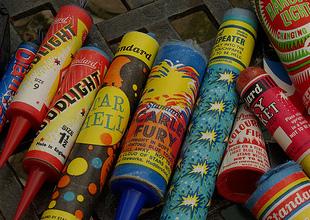Fireworks injure people every year around Halloween
