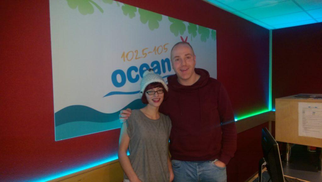 Allie Blunny Ocean FM Live