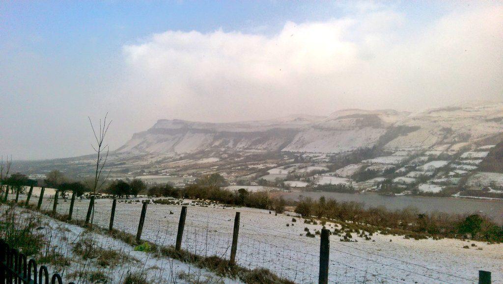 Glencar in Snow