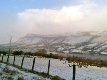 Wintry weather in north west to last until Thursday