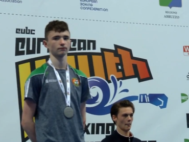 Silver for Sligo youngster Dean Clancy in Italy