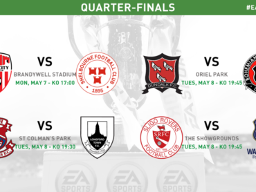 FAI confirm details for EA Sports Cup quarter-finals