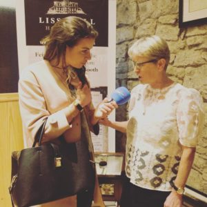 Arts House presenter Barbara-Rose with Constance Cassidy