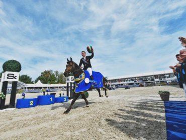 Enniscrone Showjumper Celebrates World Championship Gold