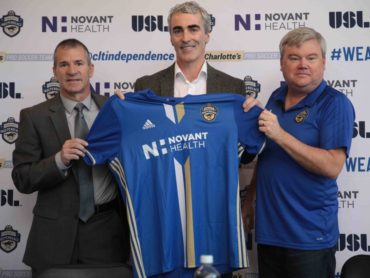 Jim McGuinness officially unveiled as Charlotte Independence head coach