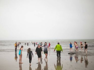 St.Stephen's Day Swim at Aughris Beach