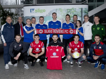 Sligo Rovers & IT Sligo announce new football scholarship partnership