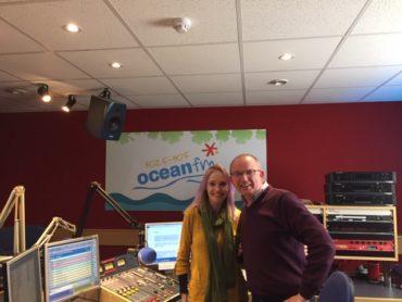 Singer Michele Feeney on Ocean Drive