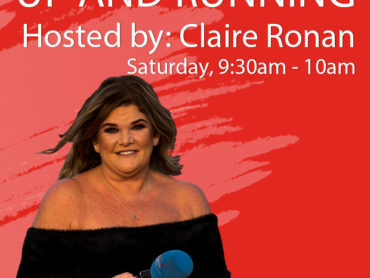 Up and Running with Claire Ronan, Saturday the 17th of April