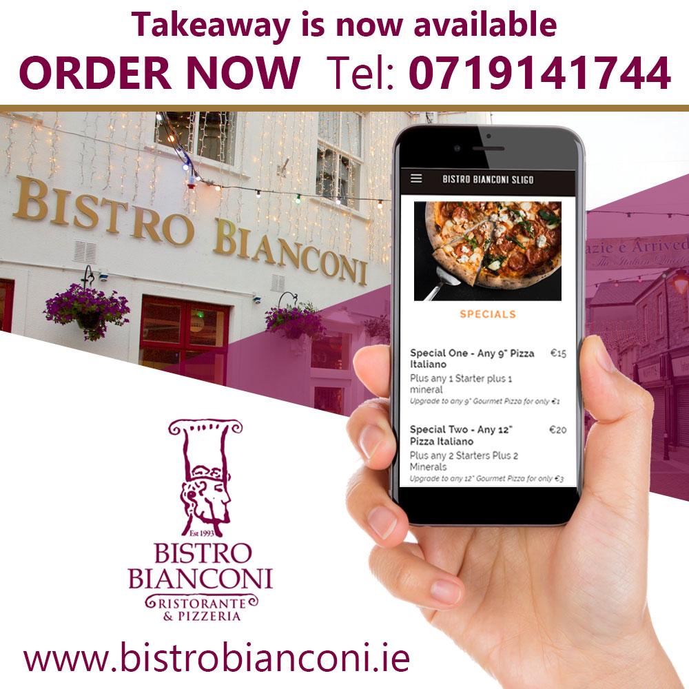Bistro Bianconi Order Now