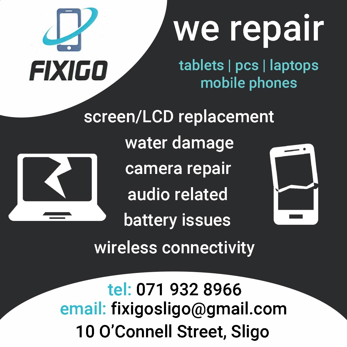 Fix a go Sligo