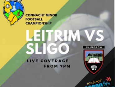 Leitrim v Sligo live on Ocean FM Sport