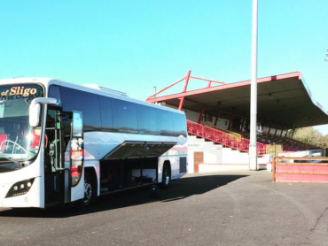 Sligo Rovers organising cup-tie bus for 'Warriors' supporters