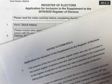 Young people urged to register to vote by Wednesday deadline