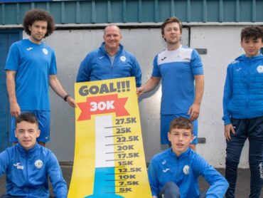 Sports stars support Finn Harps 'Bring Football Home' campaign
