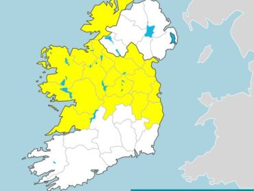 Status Yellow weather warning issued this morning