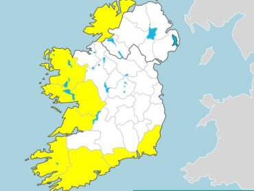 Status yellow wind warning issued for Donegal