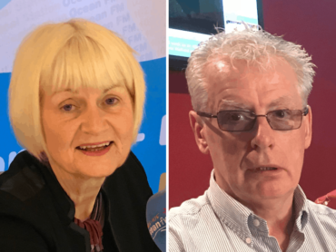 The Friday Panel, Marian Harkin, Fr. Vincent Connaughton