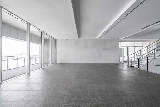 Empty commercial Building