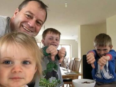 Grieving Donegal father aims to keep memory of children alive