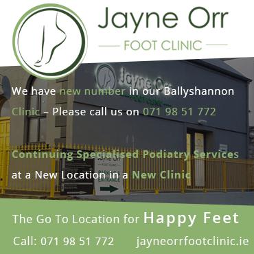 Jayne Orr Foot Clinic new building