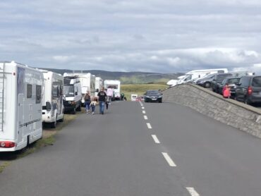 Camper van influx to Rosses Point leads to calls for more facilities