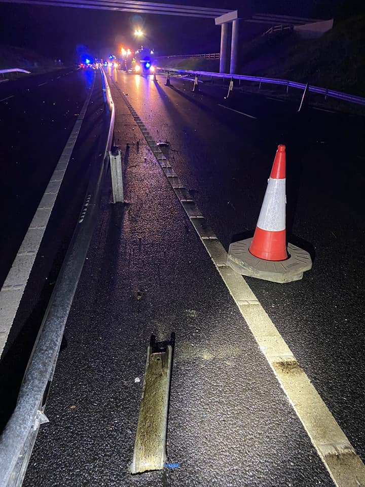 New stretch of N4 Collision