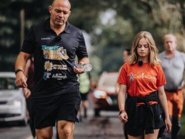 Rory Best 'walks & talks' for children for cancer