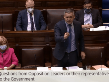 Tanasite and Donegal TD clash in Dail over accommodation