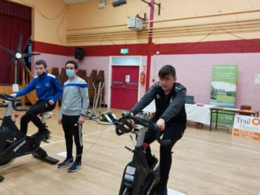 Time to 'get on yer bike' at Bee Park Centre in Manor