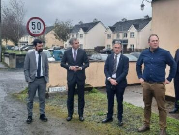 Minister of State for Community Development visiting Sligo today